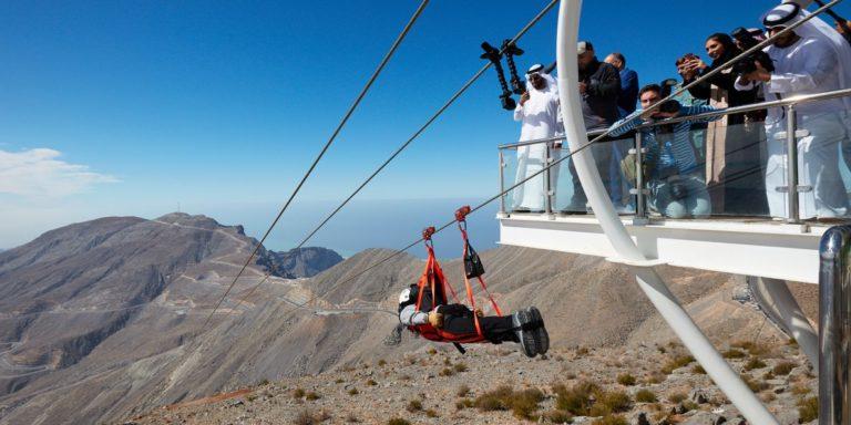 Jebel Jais Flight drótkötélpálya