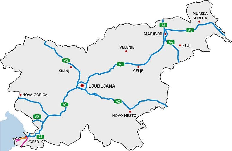 szlovén autópályák