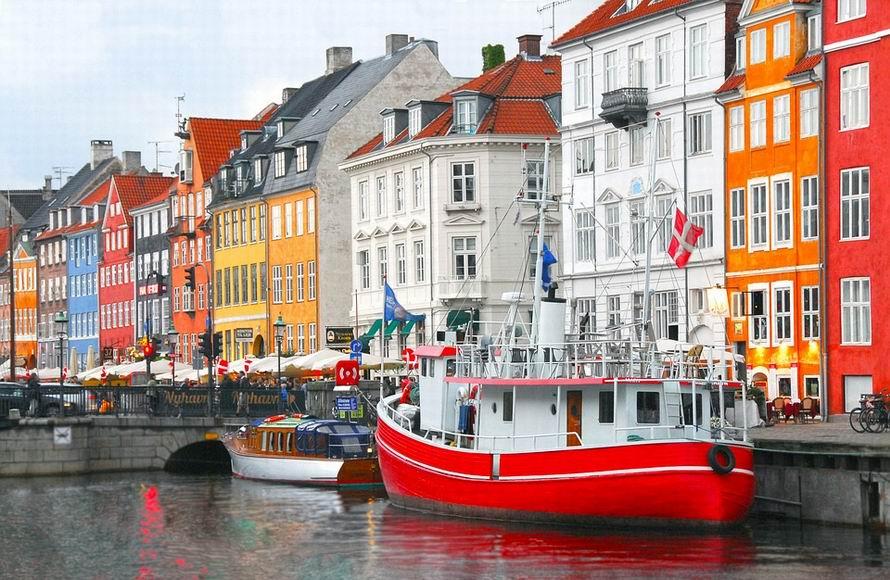 Nyhavh Koppenhága